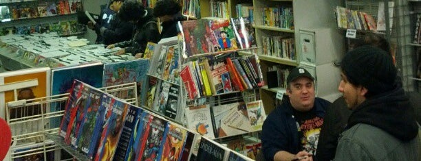 JHU Comic Books is one of Fanboy List.