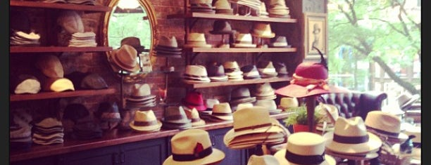Goorin Bros. Hat Shop - Newbury is one of Tempat yang Disukai Al.