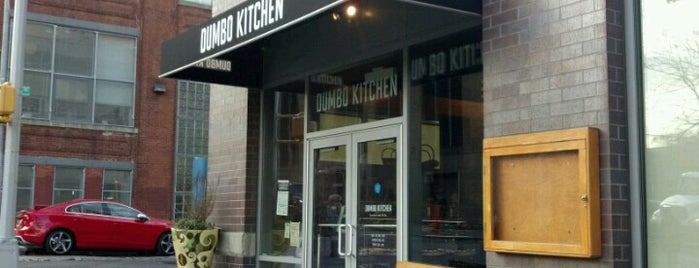 Dumbo Kitchen is one of Lugares favoritos de Nick.