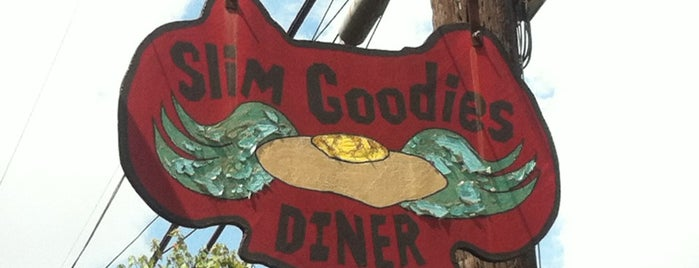 Slim Goodies Diner is one of Friends' Favs.
