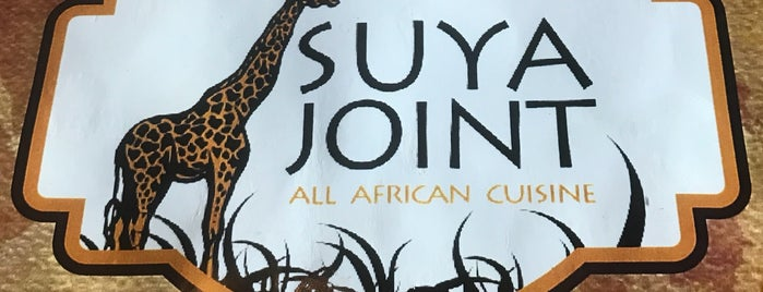 Suya Joint All African Cuisine is one of Sarah 님이 좋아한 장소.