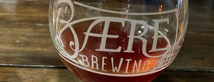 Baere Brewing Co. is one of Denver, CO 🌤 🏞🍺.
