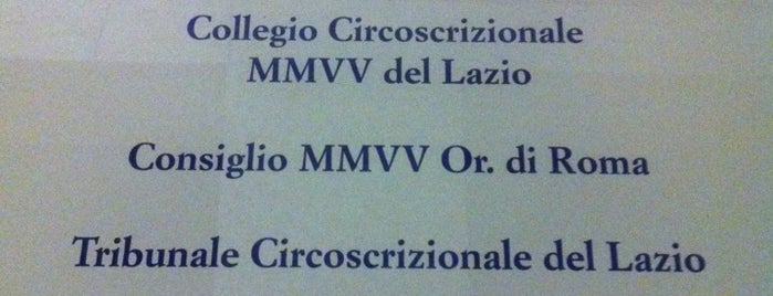 G.O.I. - Collegio Circoscrizionale MMVV del Lazio is one of Pier Luigiさんの保存済みスポット.