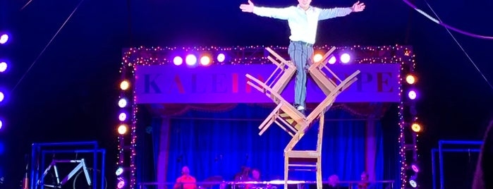 Circus Bella: Kaleidoscope is one of Locais salvos de PJ.