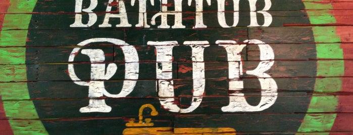The Bathtub Pub is one of Motown.