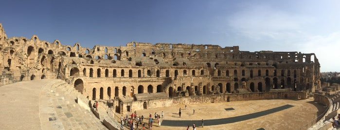 Amphitheater El Jem is one of Go Ahead, Be A Tourist.