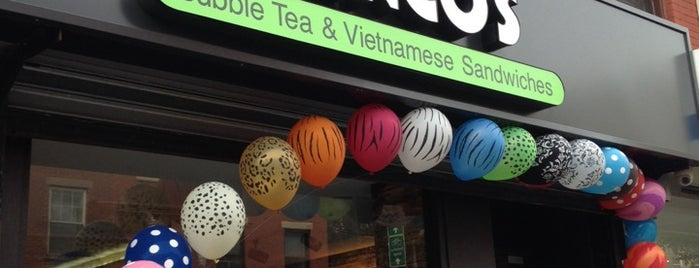 Hanco's Bubble Tea & Vietnamese Sandwich is one of NYC Restaurants Tried and True.