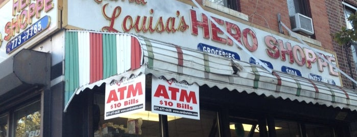 Mama Louisa's Hero Shoppe is one of Corcoran's Most Popular Tips In Brooklyn MegaList.