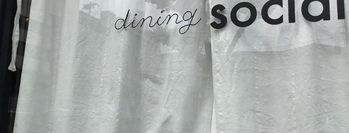 dining social is one of Locais curtidos por Harika.