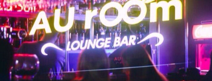 AUroom Lounge Bar is one of Club, restaurant, cafe, pizzeria, bar, pub, sushi.
