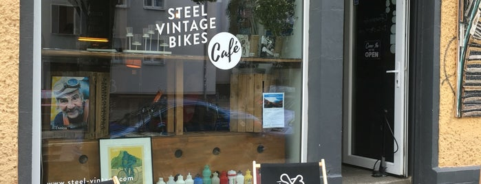Steel Vintage Bikes is one of Galinaさんの保存済みスポット.