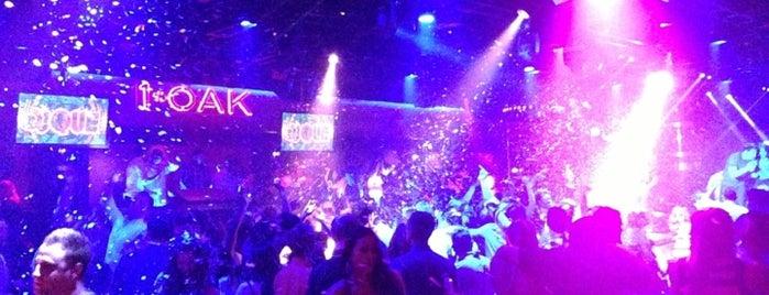 1 OAK Nightclub is one of Roadtrip.