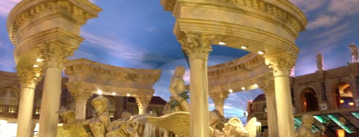 Festival Fountain - The Forum Shops at Caesars Palace is one of LV.