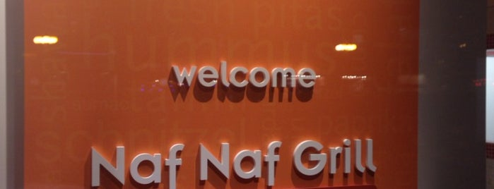 Naf Naf Grill is one of Lunch spots.