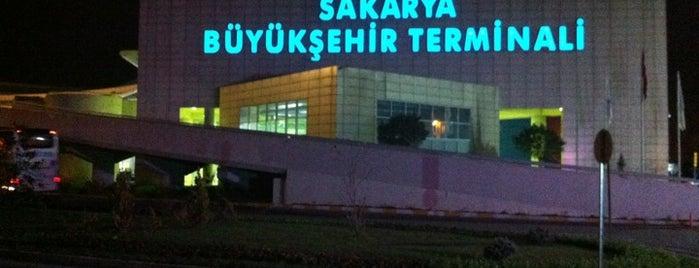 Sakarya Büyükşehir Terminali is one of En çok check-inli mekanlar.