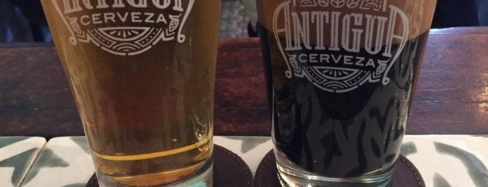 Antigua Cerveza is one of Locais curtidos por Kevin.