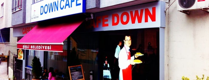 Down Cafe is one of Taksim ve civari.