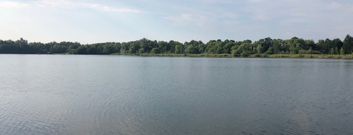 štěrkovna Háj ve Slezsku is one of Lakes.