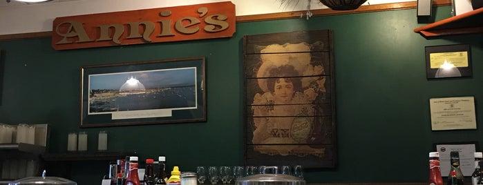 Annie's is one of Lieux qui ont plu à Michael.