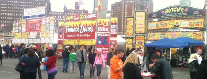 Great American Rib Cook-Off Cleveland is one of Places tried: recommend.