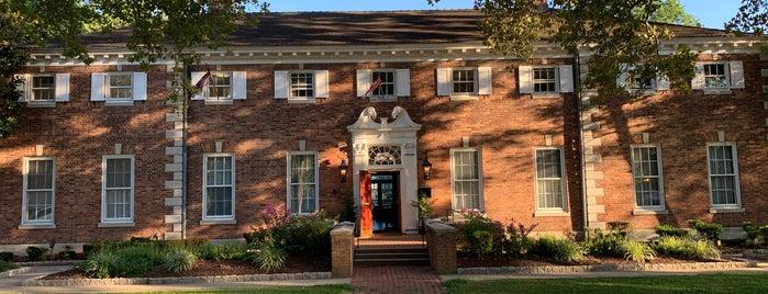 Quadrangle Club is one of Princeton.