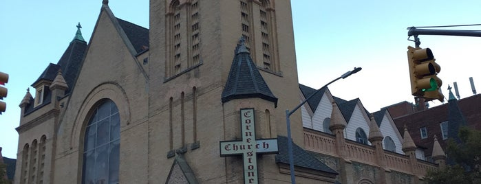 Cornerstone Baptist Church is one of Brownstone Living NYC's Liked Places.