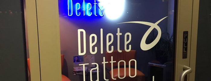 Delete Tattoo Removal & Laser Salon is one of Lugares favoritos de Liza.