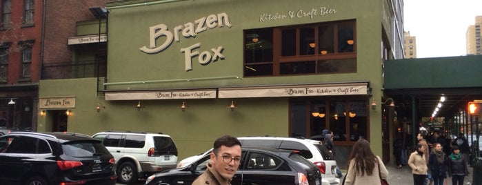 The Brazen Fox is one of American Restaurants-To-Do List.