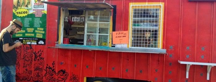 Taco Selene is one of Austin.