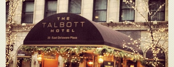 The Talbott Hotel is one of Priceless Chicago.