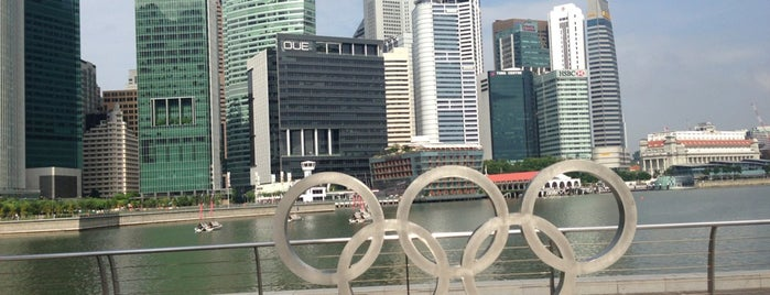 Marina Bay Sands Olympic Walk is one of Singapour.