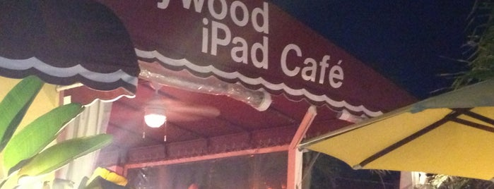 Hollywood beach IPad cafe is one of Lieux sauvegardés par miamism.