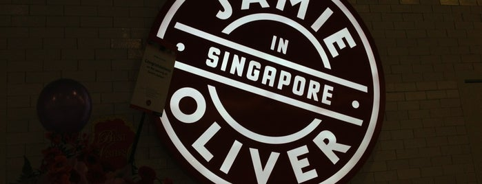 Jamie's Italian is one of Singapore.