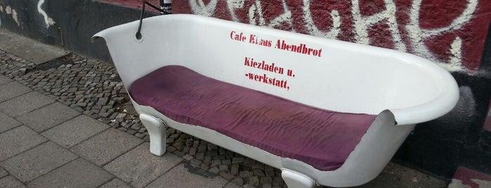 Klaus Abendbrot is one of B.: сохраненные места.