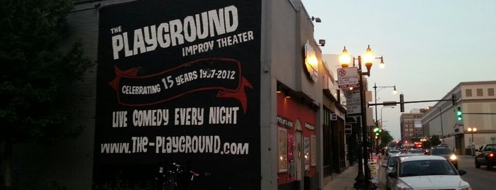 The Playground Theater is one of Chicago.