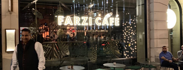 Farzi Cafe is one of LONDON 2019.