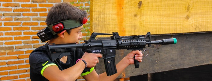 Laserfield Laser Tag Arena is one of Finde.