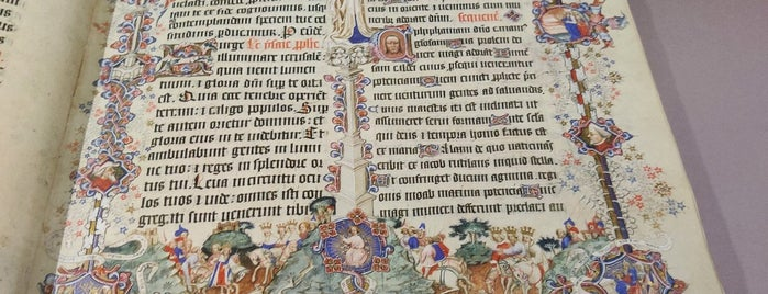 The Sir John Ritblat Gallery: Treasures of the British Library is one of London.