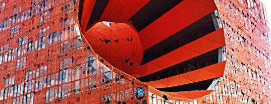 Le Cube Orange is one of 建築マップ ヨーロッパ.
