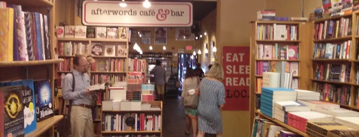 Kramerbooks & Afterwords Cafe is one of dc drinks + food + coffee.