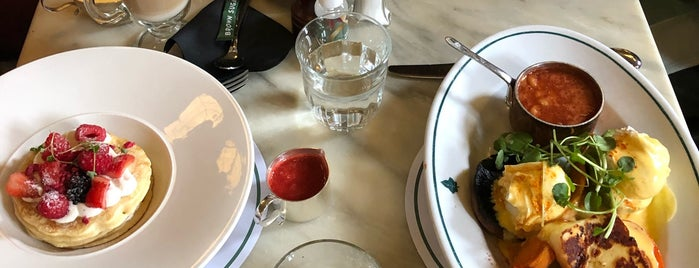 The Ivy Market Grill is one of LDN - Brunch/coffee/ breakfast.