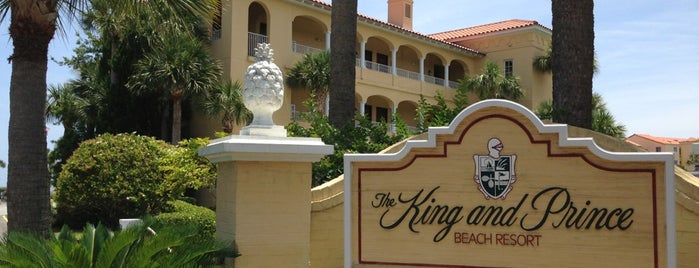 The King And Prince Beach & Golf Resort is one of Southern Sleeps.
