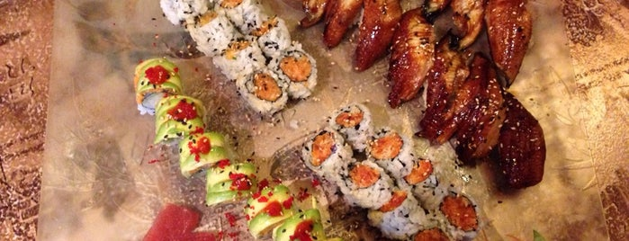 Fancy Q Sushi Bar & Grill is one of Locais curtidos por Tilsit.