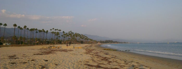 Santa Barbara Beach is one of Tempat yang Disukai Mihaylo.