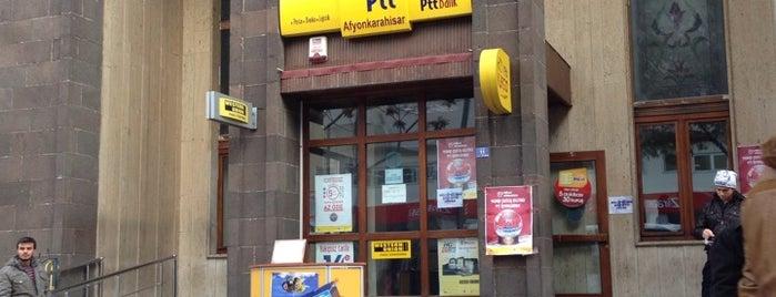 PTT is one of Tempat yang Disukai Yalçın.