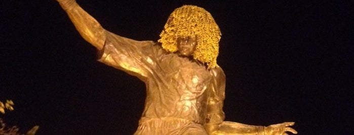 "Monumento ""El Pibe"" Valderrama is one of Carl 님이 좋아한 장소."