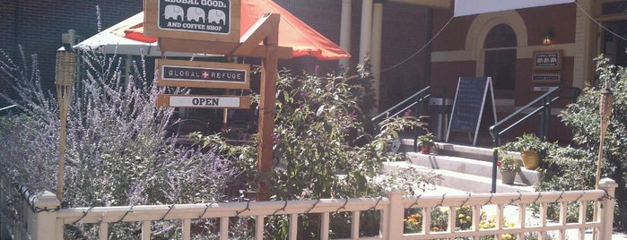 Global Goods & Coffee Shop is one of Arvada Places.