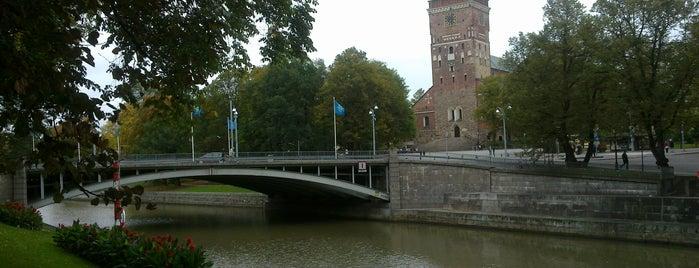 Aurajoki is one of Turku.