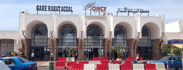 Gare de Rabat-Agdal is one of Lugares favoritos de Emre.