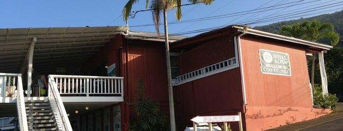 Royal Kona Coffee Mill & Museum is one of HAWAII.